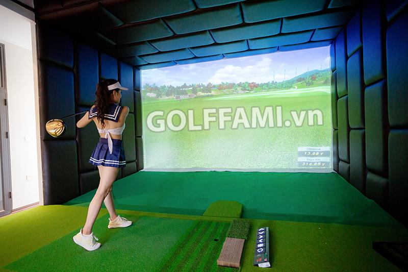 Chơi golf tại gia giữa mùa dãn cách