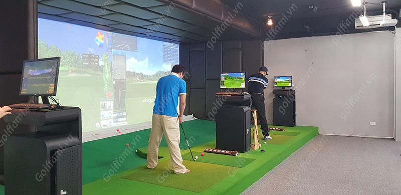 Địa chỉ phòng tập golf 3d tại Hà Nội