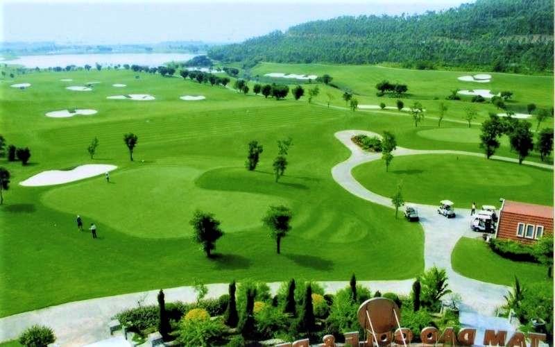 Vĩnh Phúc mở lại hoạt động du lịch, sân golf