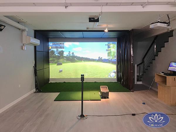 Phòng tập golf 3D tại Phùng Chí Kiên
