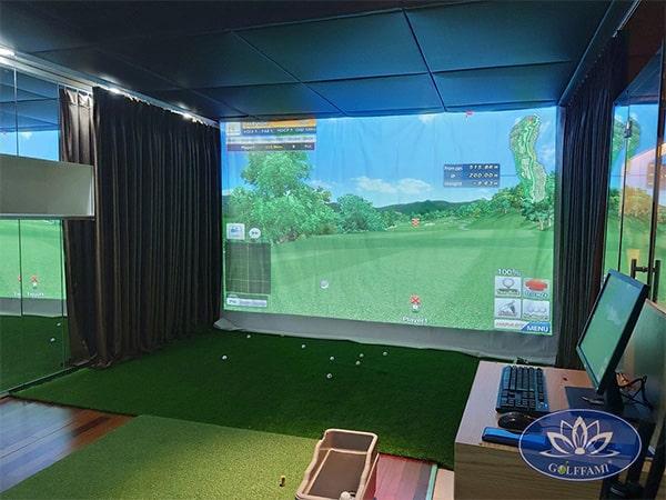 Lắp đặt phòng tập golf 3D tại Time City Hà Nội