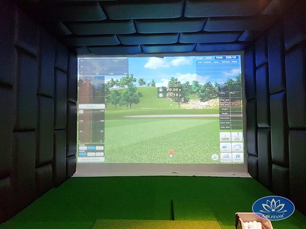 Dự án lắp đặt 2 phòng tập golf 3d tại Đà Nẵng