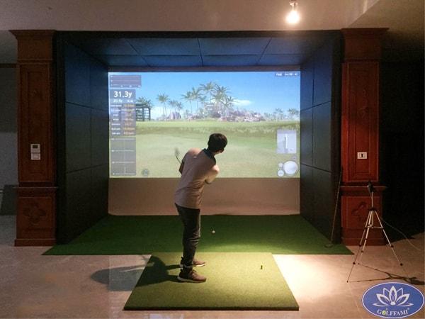 Lắp đặt phòng golf 3D tại Vũ Ngọc Phan Hà Nội