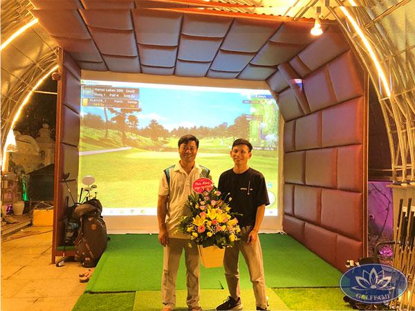 Golffami thi công phòng golf 3d Bắc Ninh