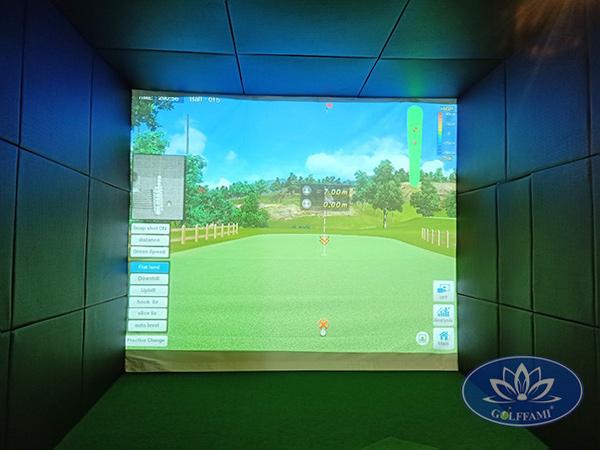 Thi công phòng tập golf 3D tại Hải Phòng