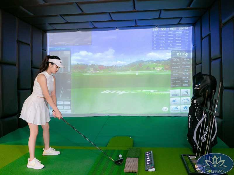 Phòng golf 3D tại Vinhomes Hải Phòng
