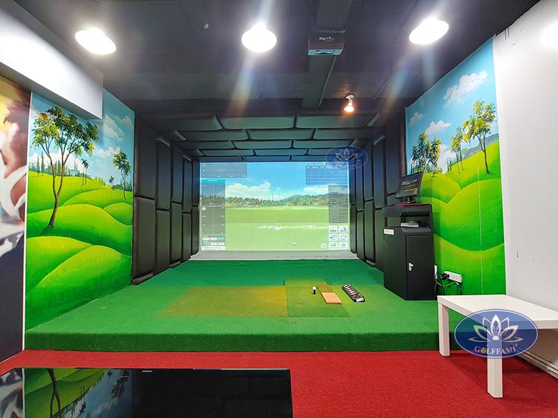 Phòng golf 3d TAT Golf Ngô Thì Nhậm
