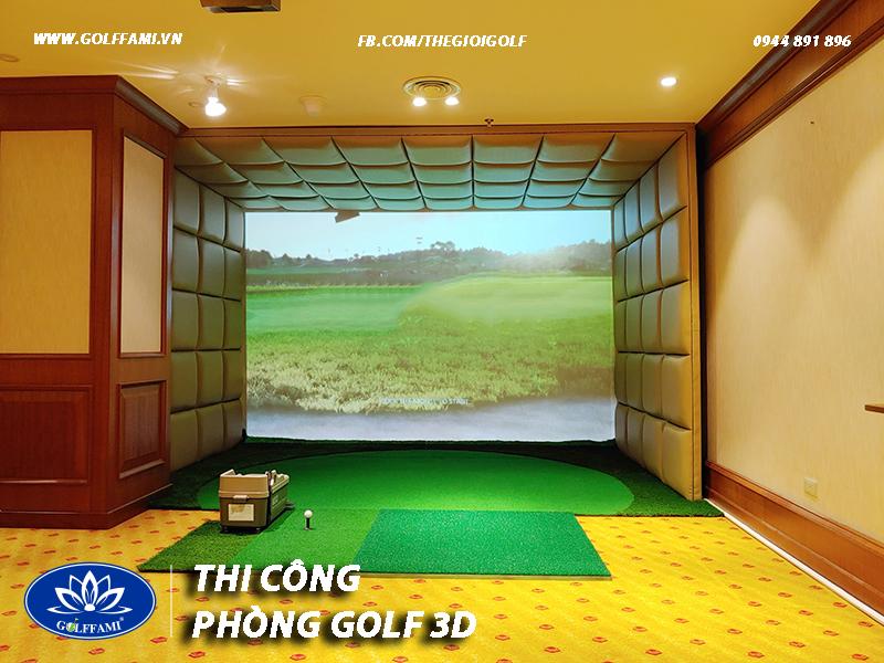 Phòng golf 3d Số 2 Tôn Thất Tùng